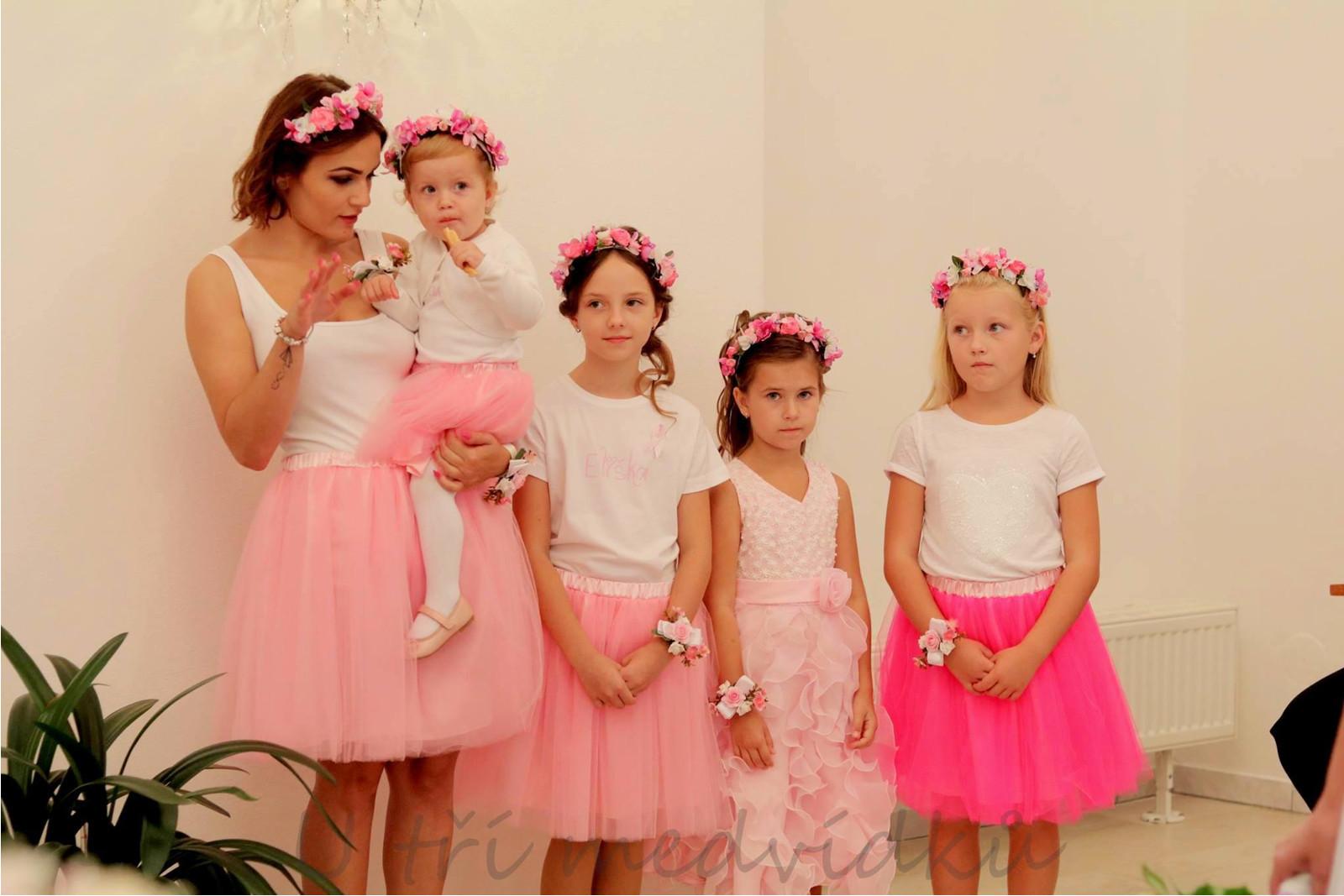 da495776ee9a Tylová sukně pro družičky - různé barvy (velikost 86 - 98)   Zboží prodejce  MVstyle