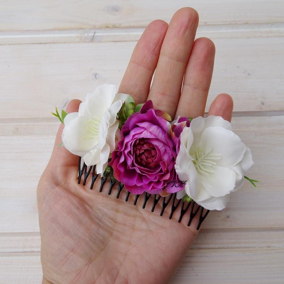 842831cdb3f Hřebínek do vlasů Berta   Zboží prodejce Bereniké Flowers