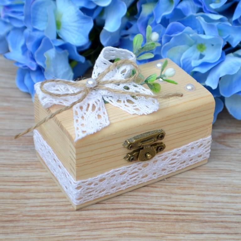 d0f066d1e Dřevěná krabička na snubní prstýnky / Zboží prodejce kultdesign ...