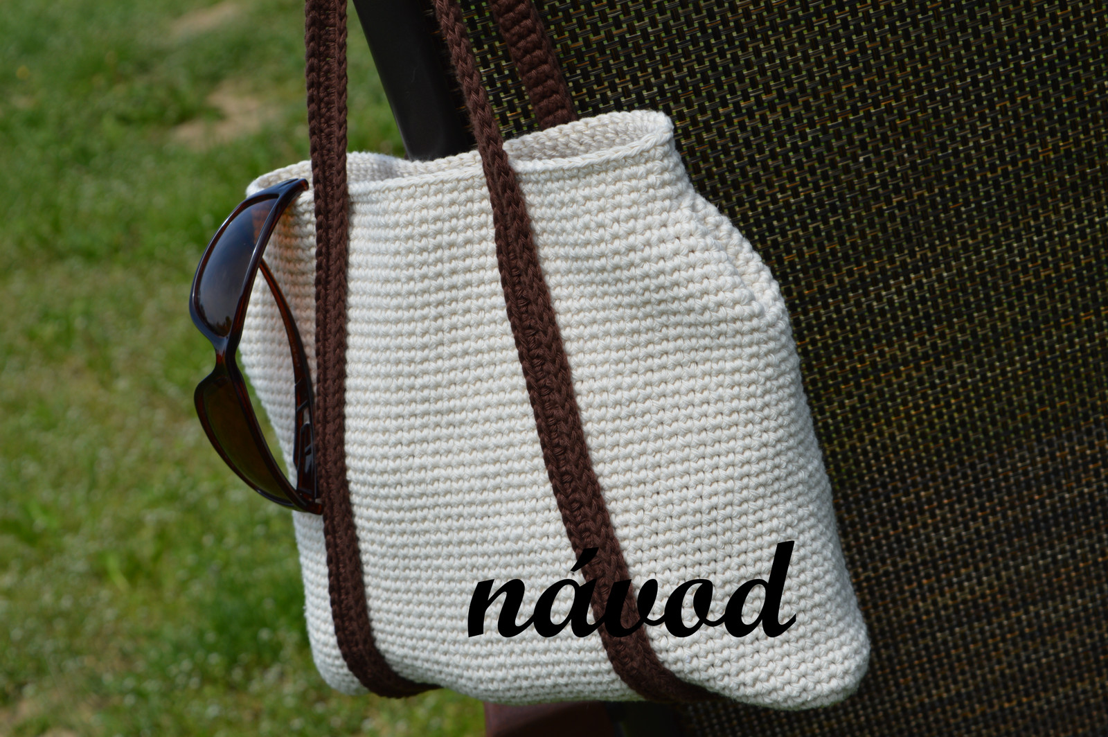 ed2a8b0507 Návod - háčkovaná kabelka