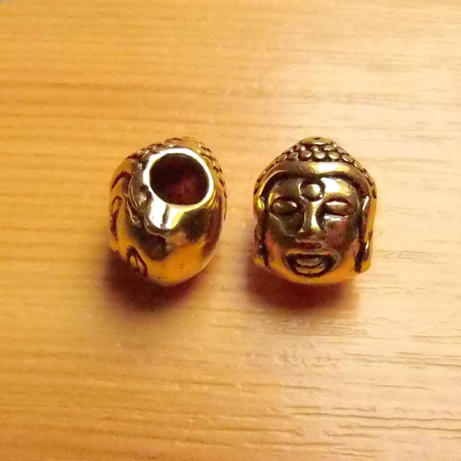 Buddha - zlato - 10mm x14mm   Zboží prodejce bibanela - materiál ... 79f02b089b1