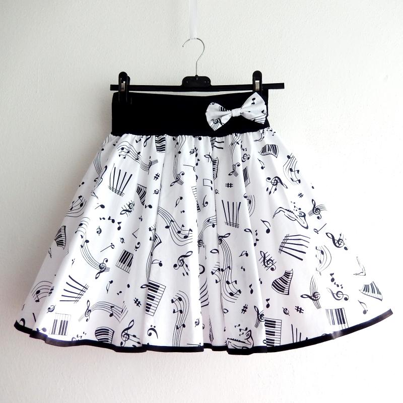 Kolová sukně pro hudebníky - SKLADEM   Zboží prodejce Princezna ... 2557ea3ccc