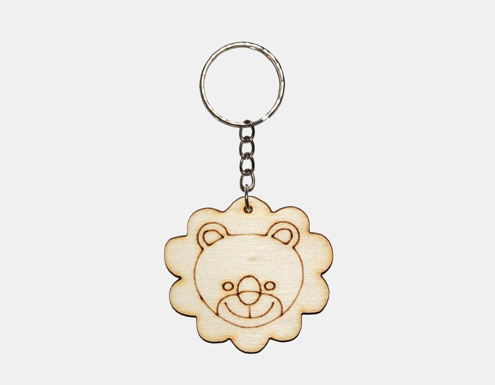 e610e2d13 Dřevěné lvíče - přívesek na klíče / Zboží prodejce Ozdoby ze dřeva ...