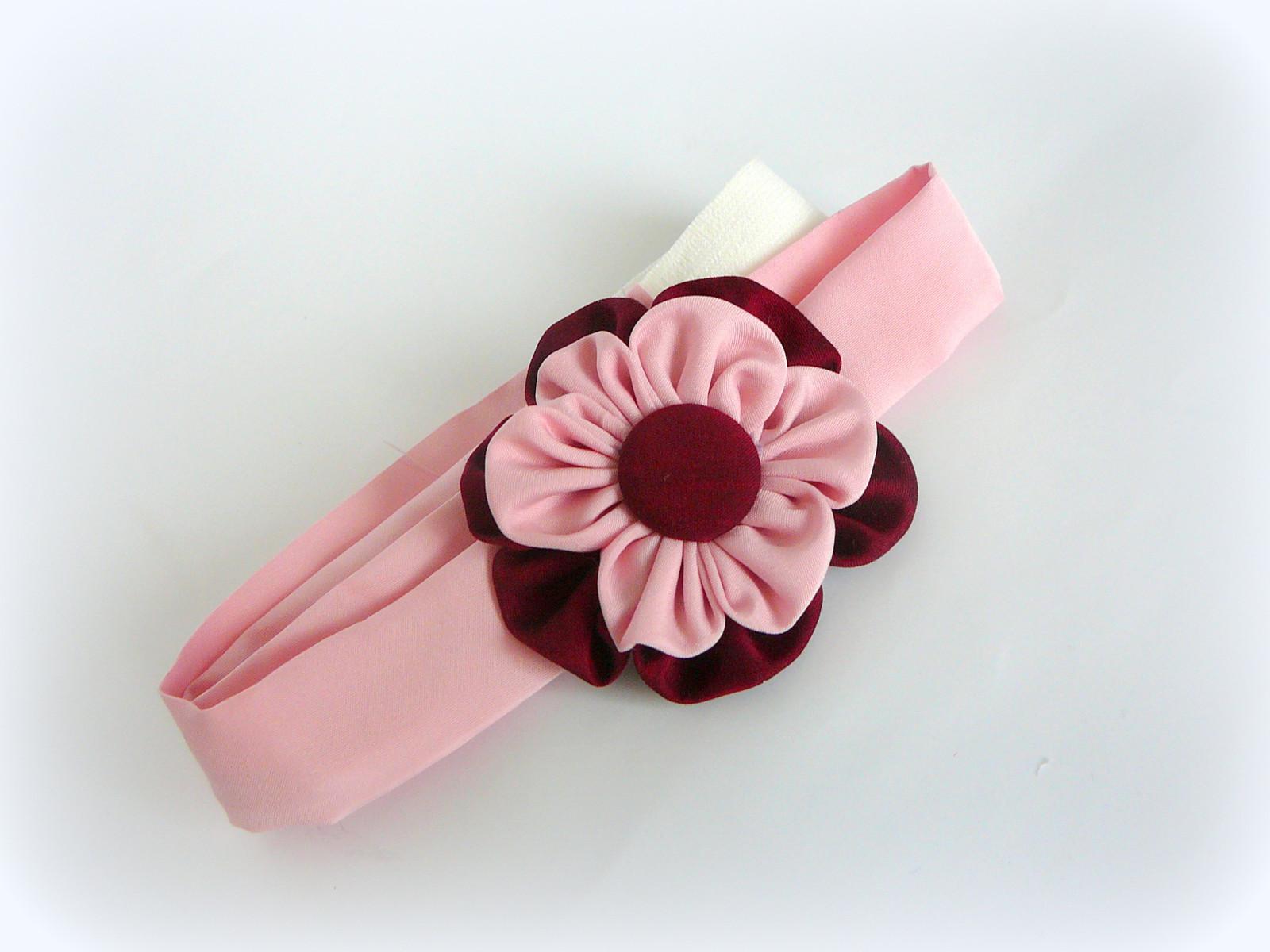 Čelenka s látkovým květem.   Zboží prodejce ksanunja  c30bb85dde