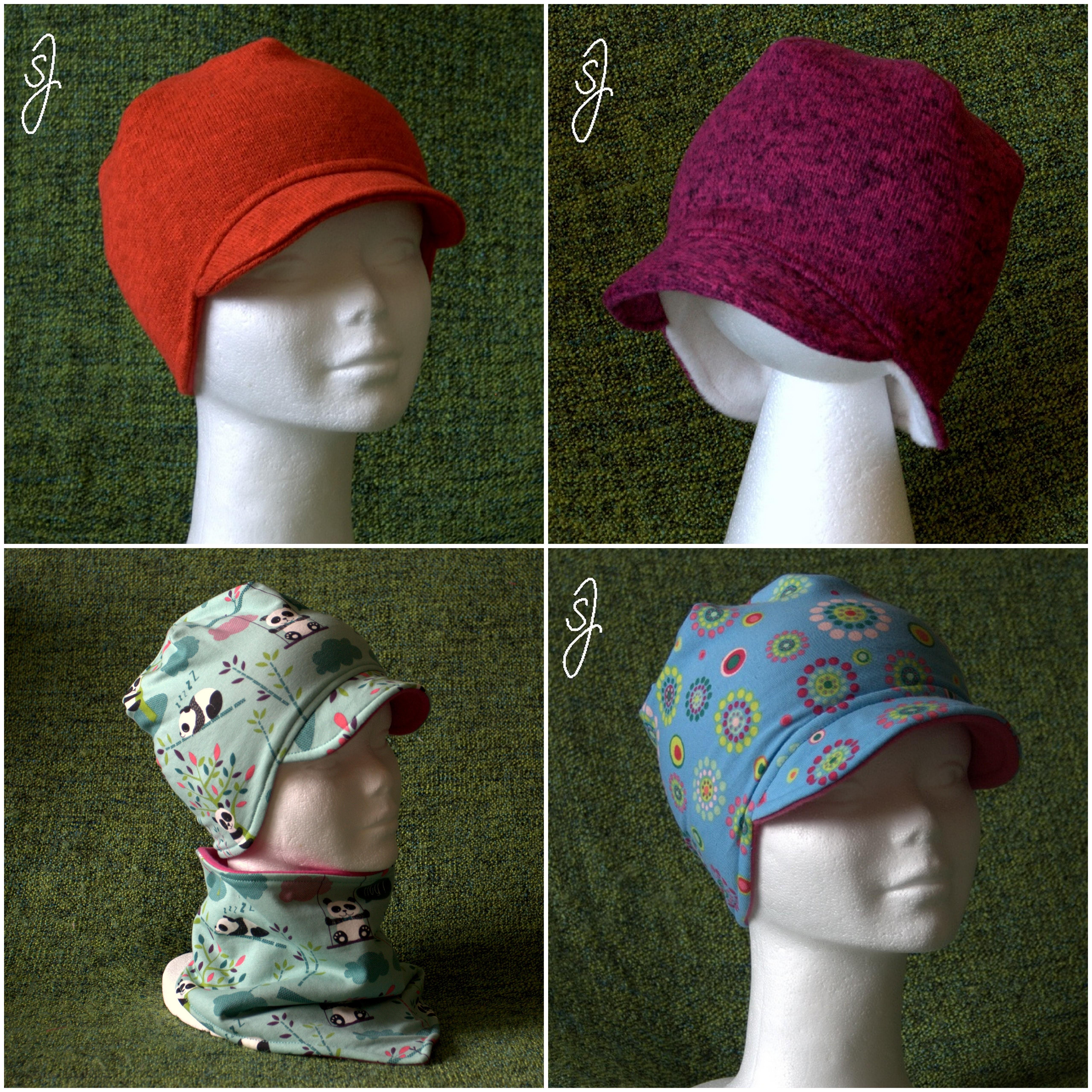 21c37f2deda Zimní čepice přes uši s kšiltem dle Vašeho výběru   Zboží prodejce ...