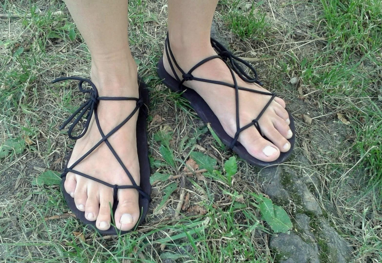Barefoot sandálky Huarache na míru de12e6b95c