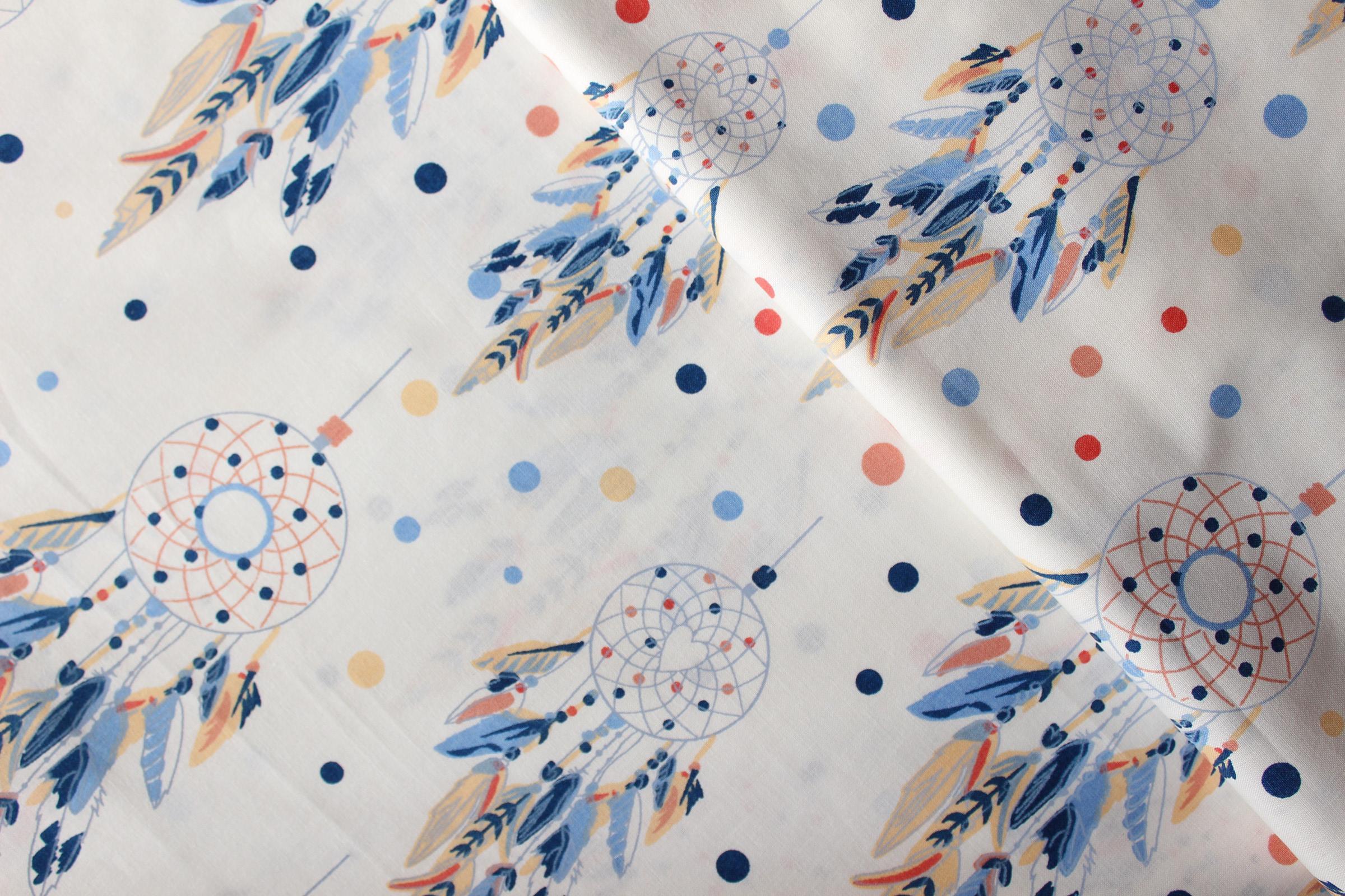 f351340f1e2c Lapač snů na smetanové 100% bavlně   Zboží prodejce Happy Hobby šití ...