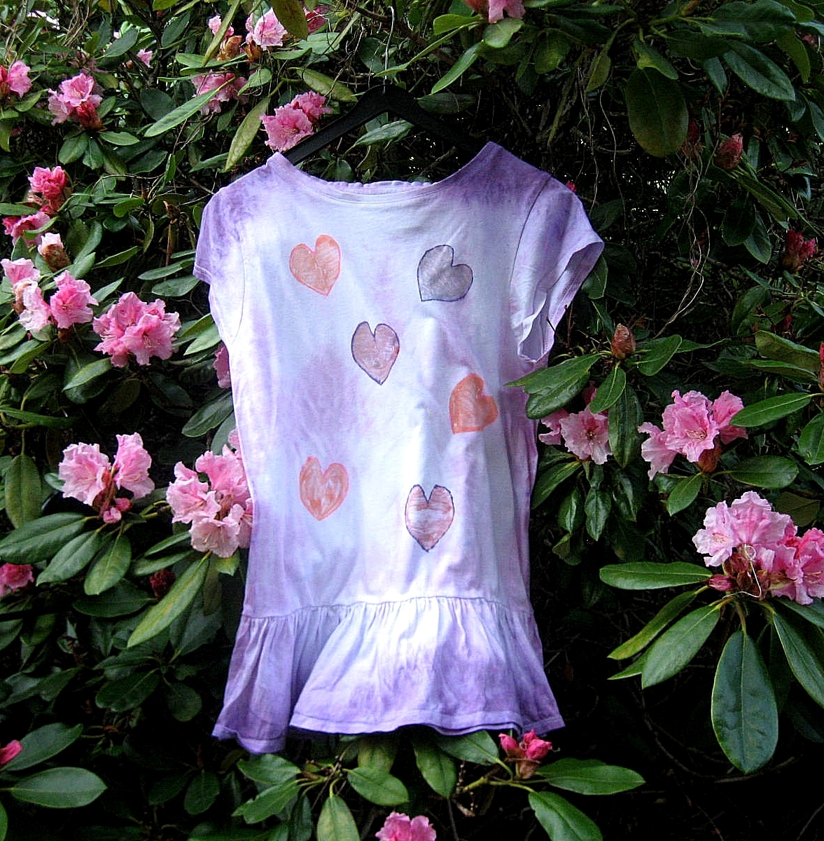 Dívčí bavlněné triko s volánkem.   Zboží prodejce Barbie-všeproděti ... d00c984d5a