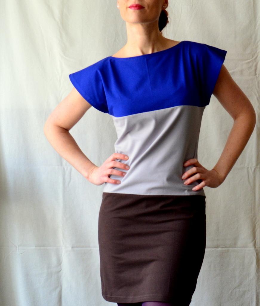 Trojbarevné šaty   Zboží prodejce Petrushe  5ce5439a72