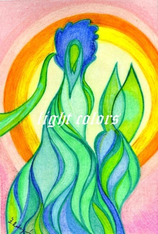 Duch Lesa V Pousti Zbozi Prodejce Light Colors Fler Cz