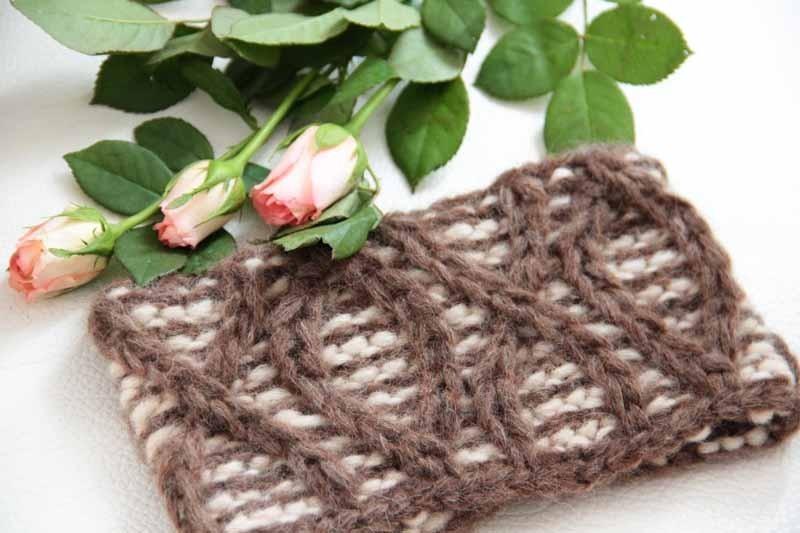 NÁVOD na dámskou pletenou čelenku   Zboží prodejce Prošikulky  6e7afb6862