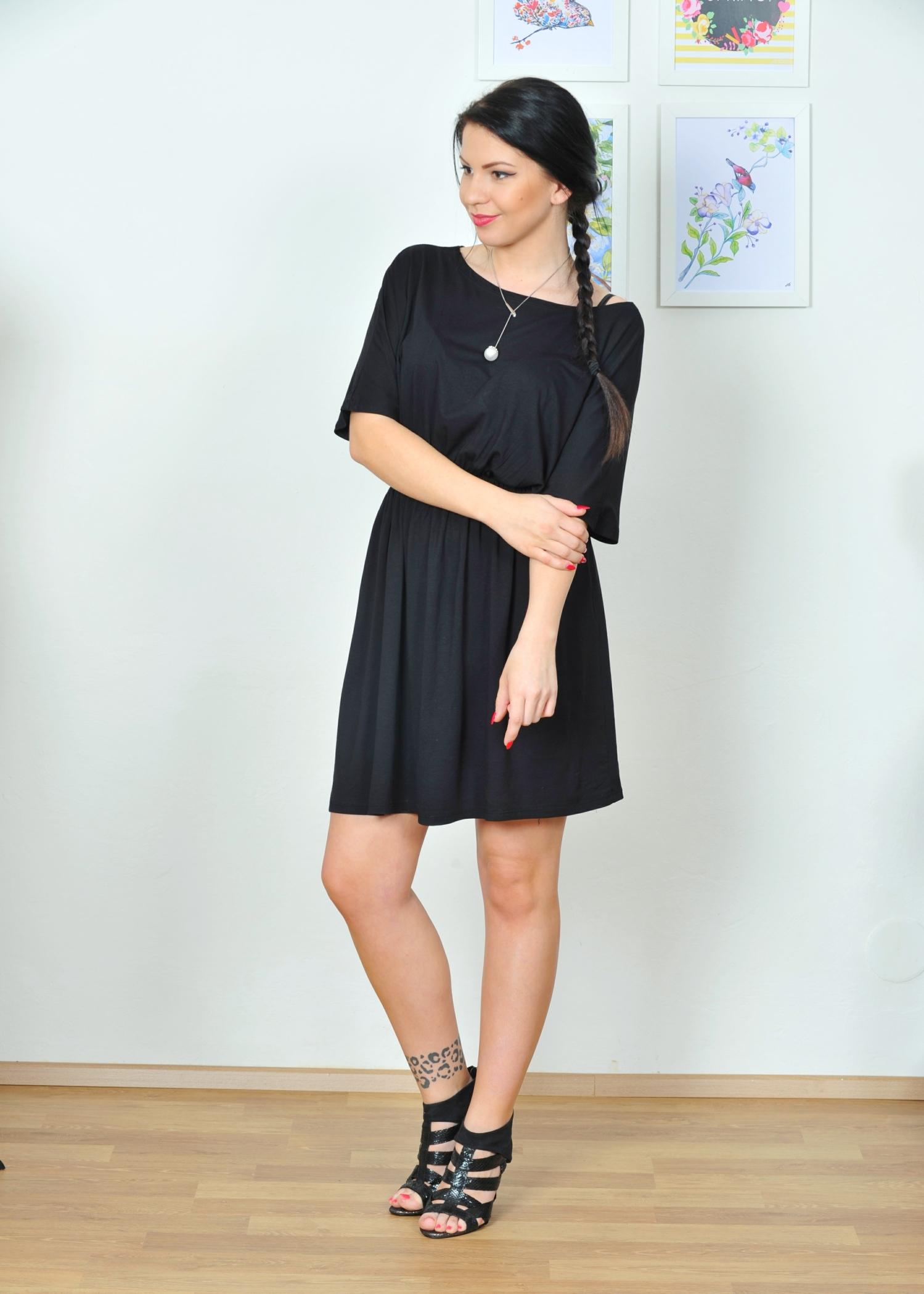 Jednoduché řasené šaty nebo top   Zboží prodejce INDIVA  bb8f0df4db