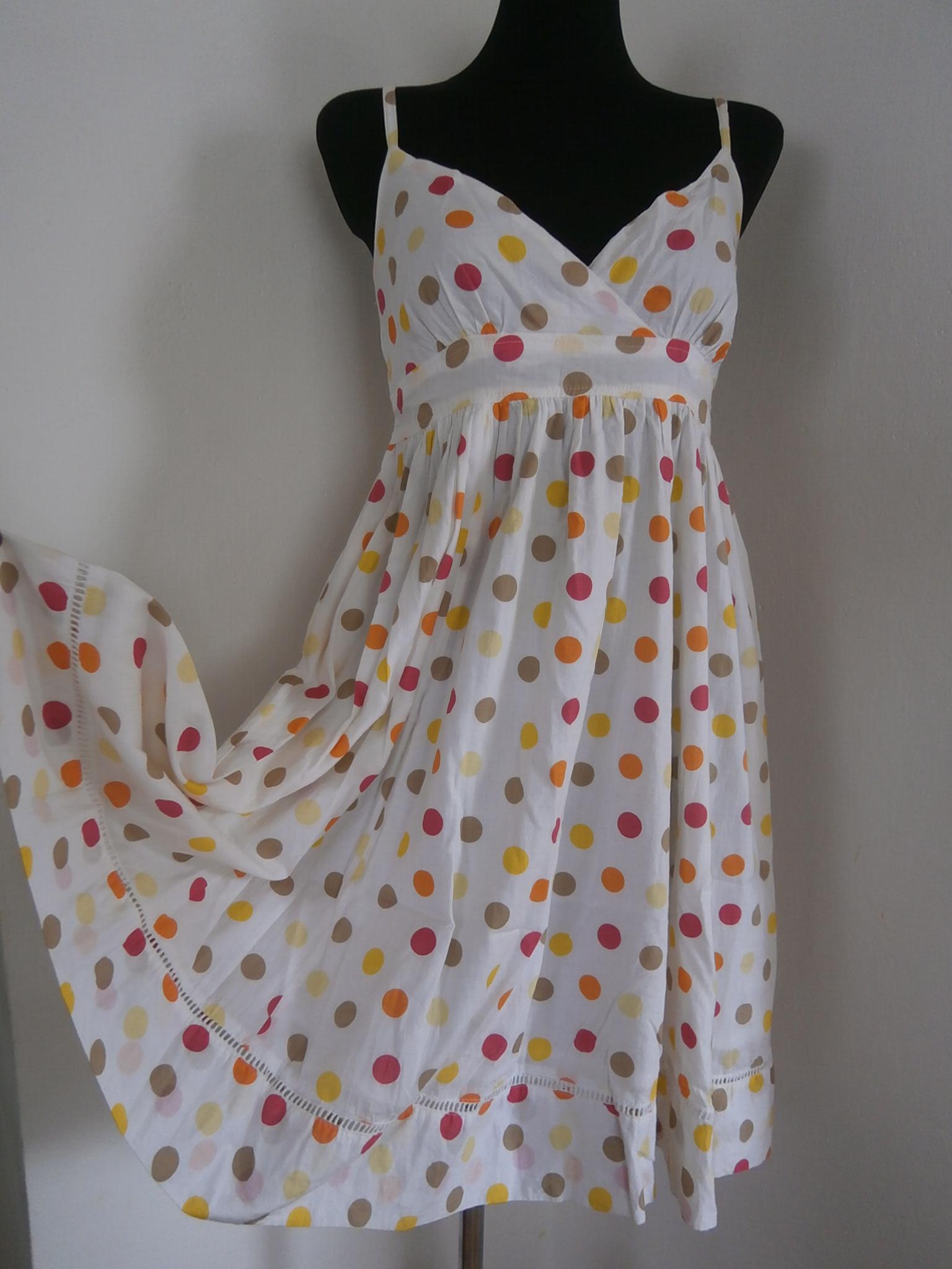 Puntíkované letní šaty   Zboží prodejce Retro-Vintage styl  dad0c69a69