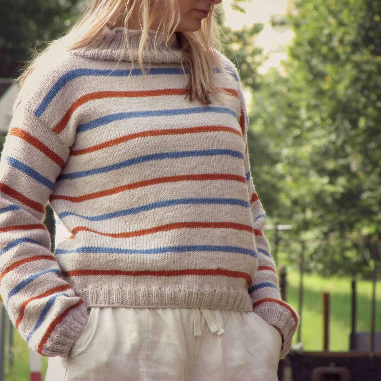 56046735bf04 Merino ručně pletený svetr   Zboží prodejce Hookeddesign