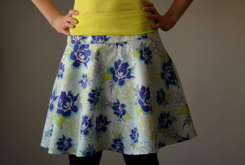 Letní květinová sukně   Zboží prodejce Petrushe  624c52f0bf