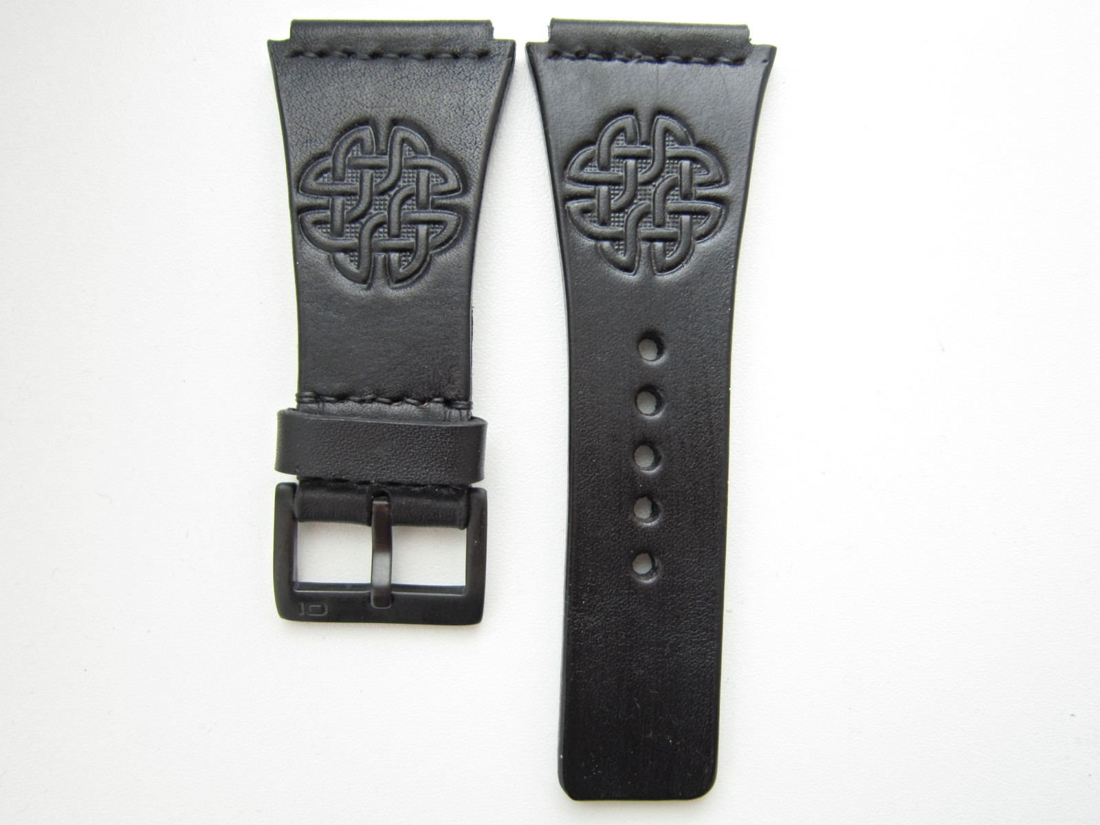 Černý kožený pásek na hodinky THE ONE Kerala Tranc   Zboží prodejce ... 6b59f379011