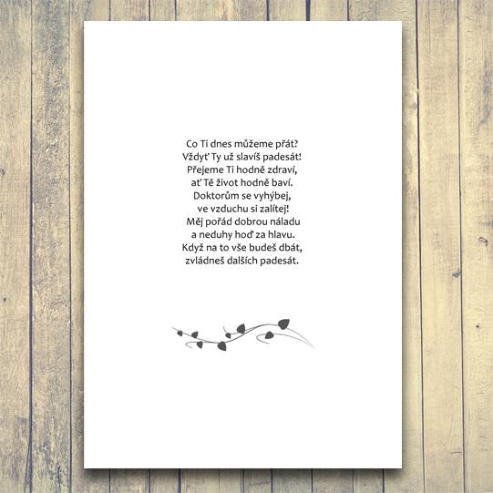 rýmované přání k narozeninám Veršované přání   báseň na přání EXPRES (do 24h) / Zboží prodejce  rýmované přání k narozeninám