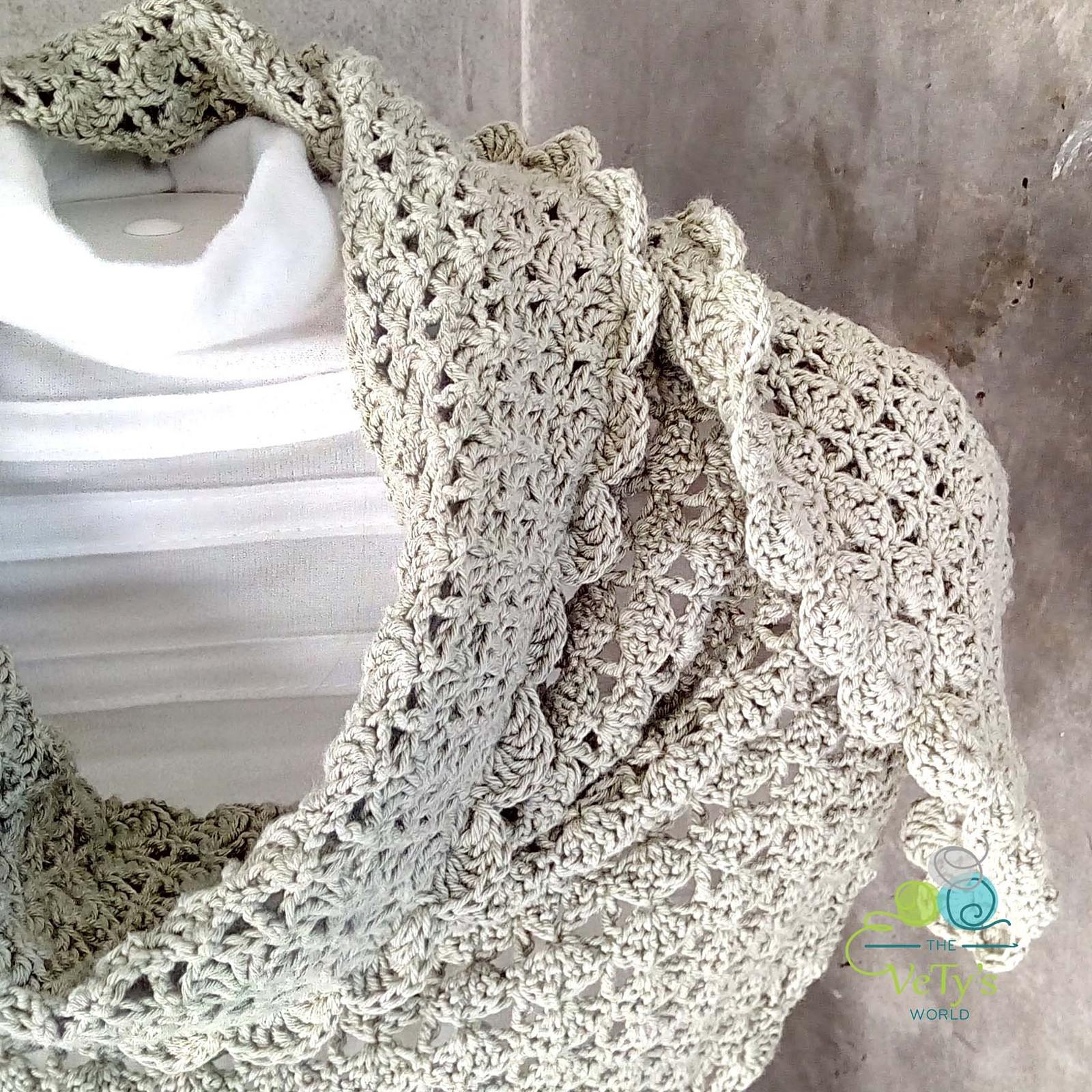 32654b4b5db Bambusový šátek 003 - jarní podzimní   Zboží prodejce VeTys