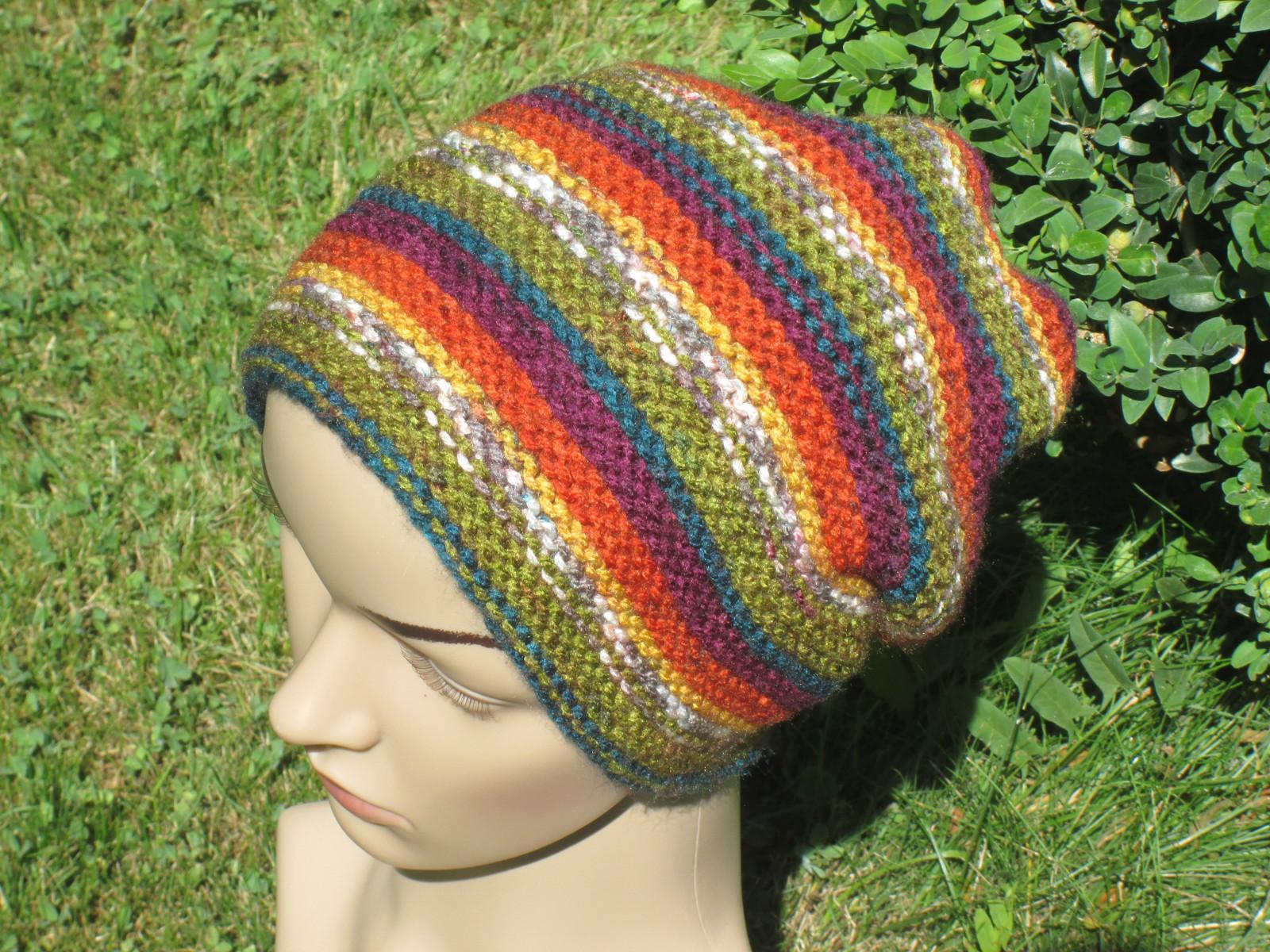 Čepice ručně pletená 2b695e2970
