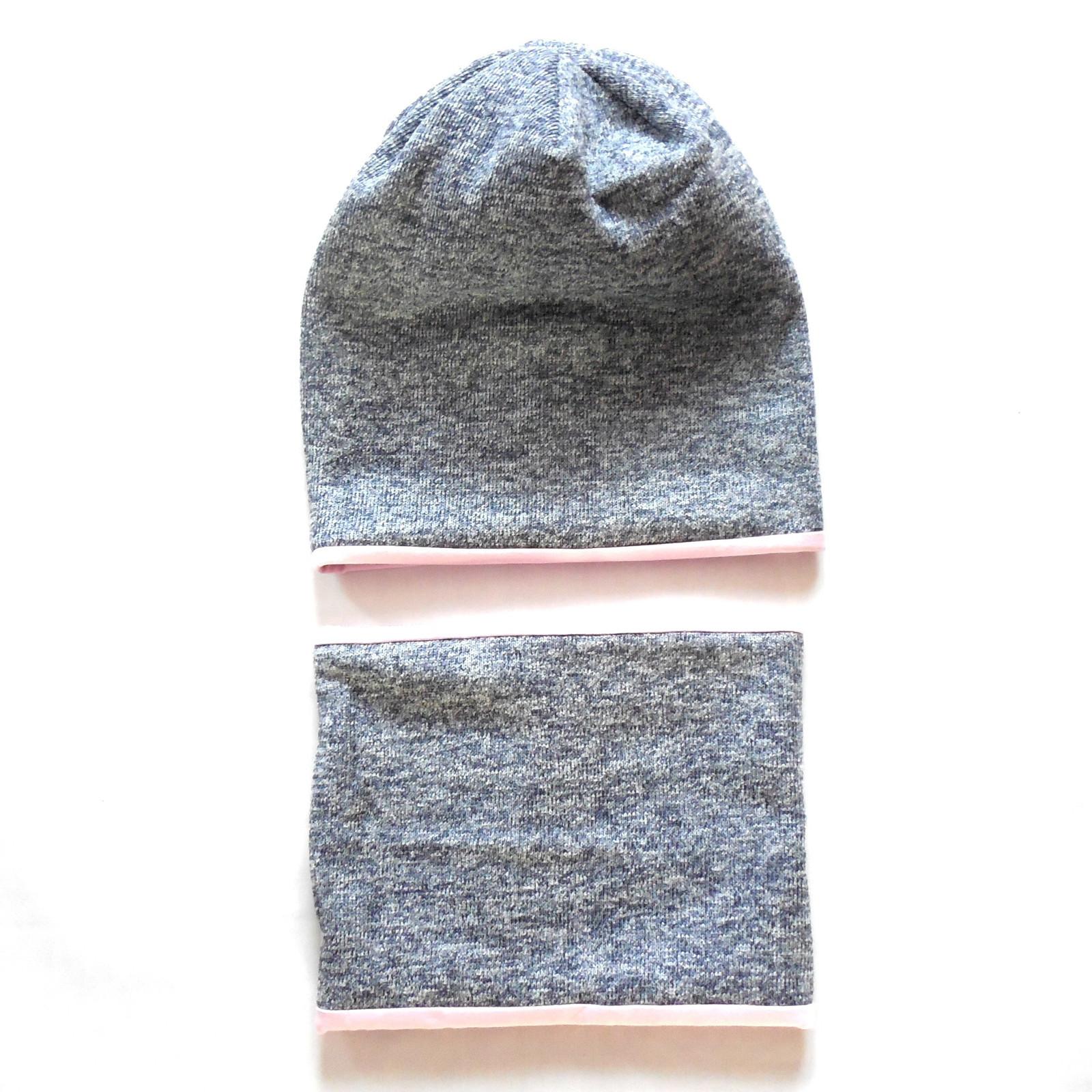 606dea21225 Zimní set čepice a nákrčník - OBOUSTRANNÉ   Zboží prodejce GuMaS ...