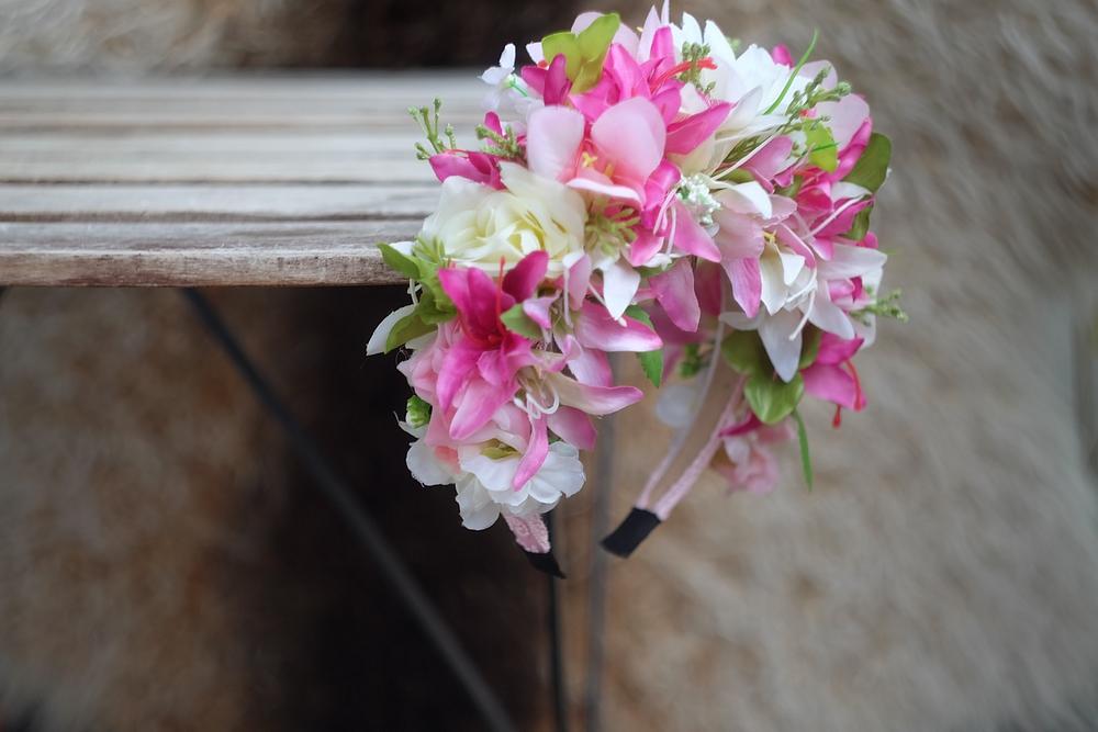 b4f7d978f63 VÝPRODEJ parta  květinová čelenka   Zboží prodejce jitkita