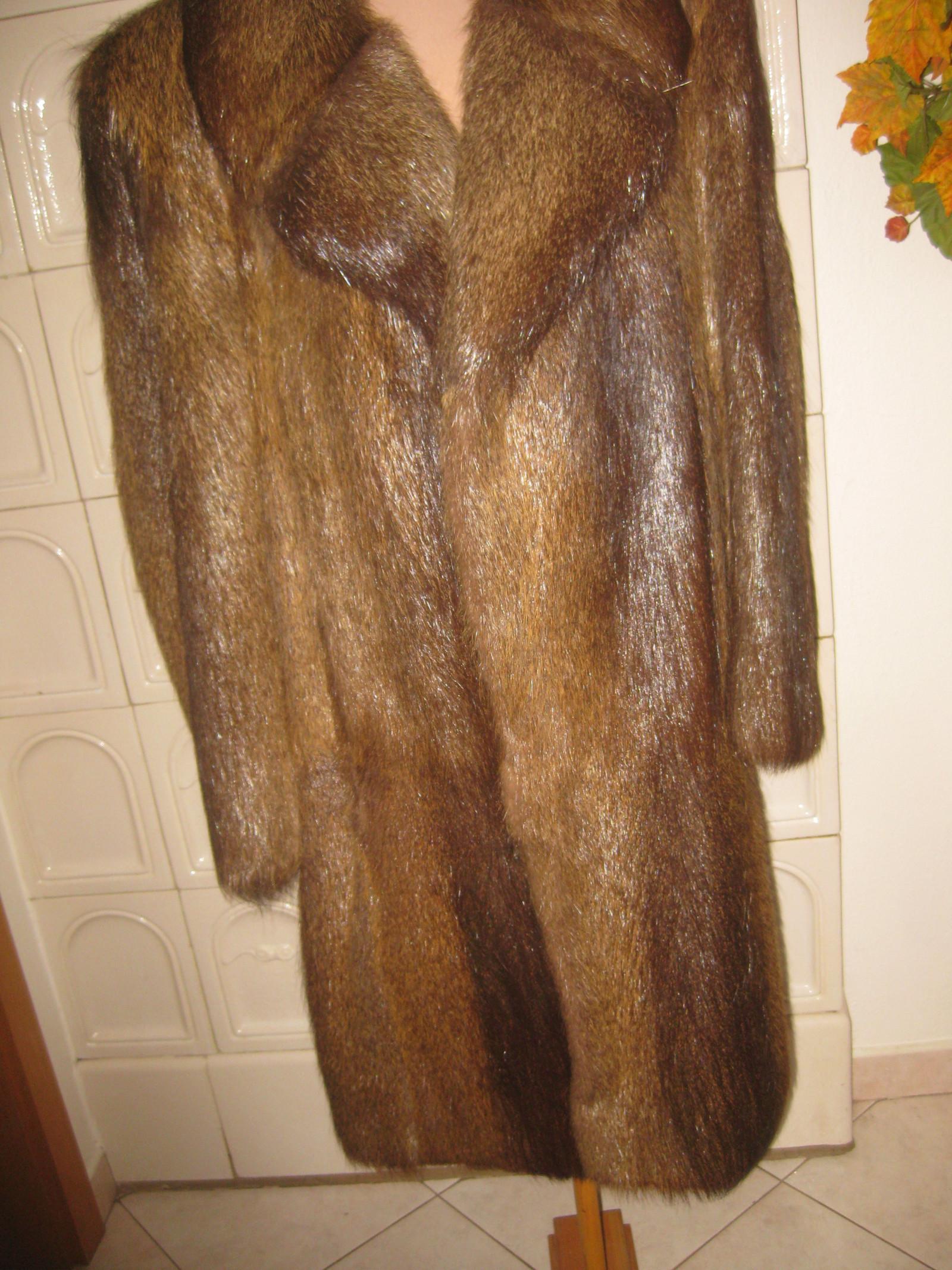 555c4415344 Pravý kožich-pánský-nutrie   Zboží prodejce petra.desing111