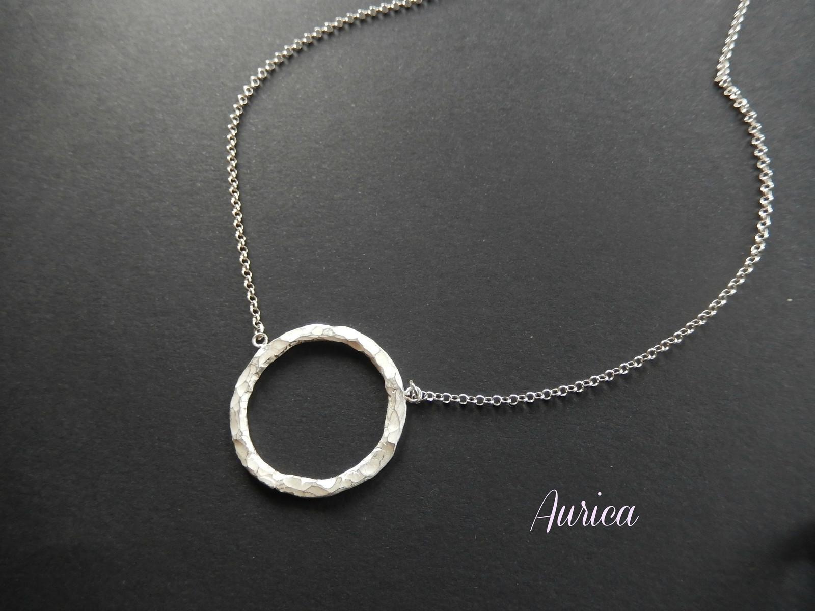 Stříbrné tepané kolečko - Ag 925 1000   Zboží prodejce Aurica  f870663cee0