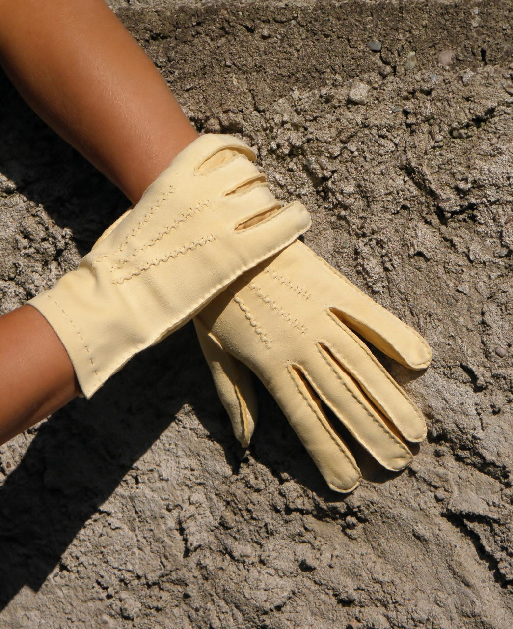 Pánské kožené rukavice z jelenice b0a217d11d