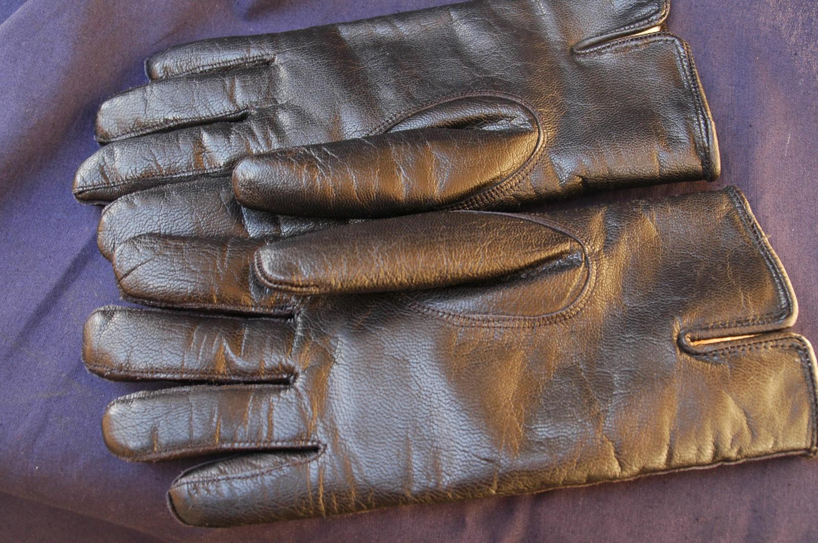 zimní kožené rukavice černé vel. L   Zboží prodejce Chuitemachoine ... eb251a99cf
