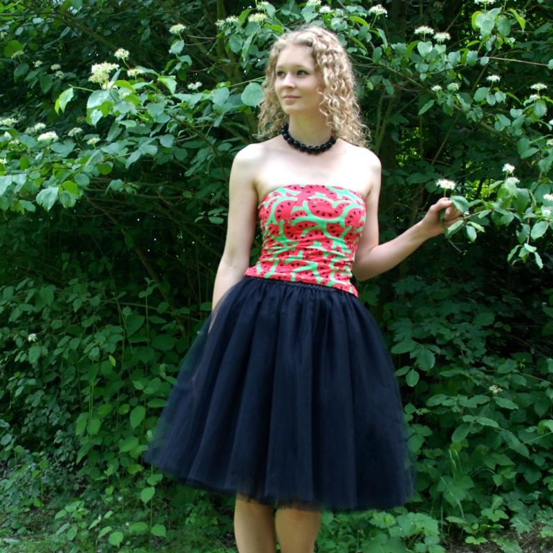 Černá tylová sukně-SKLADEM   Zboží prodejce Princezna Pampeliška ... 2a2239a3c0
