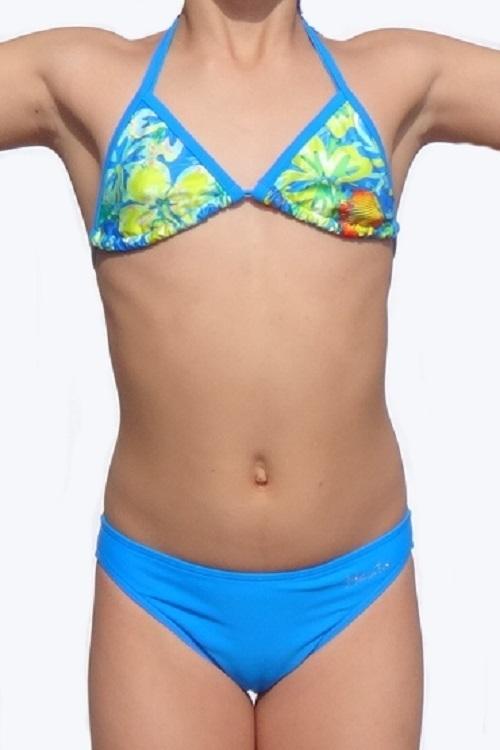 Dívčí dvoudílné plavky (Barevné)   Zboží prodejce MANTA STYLE  f8b3c9bc73