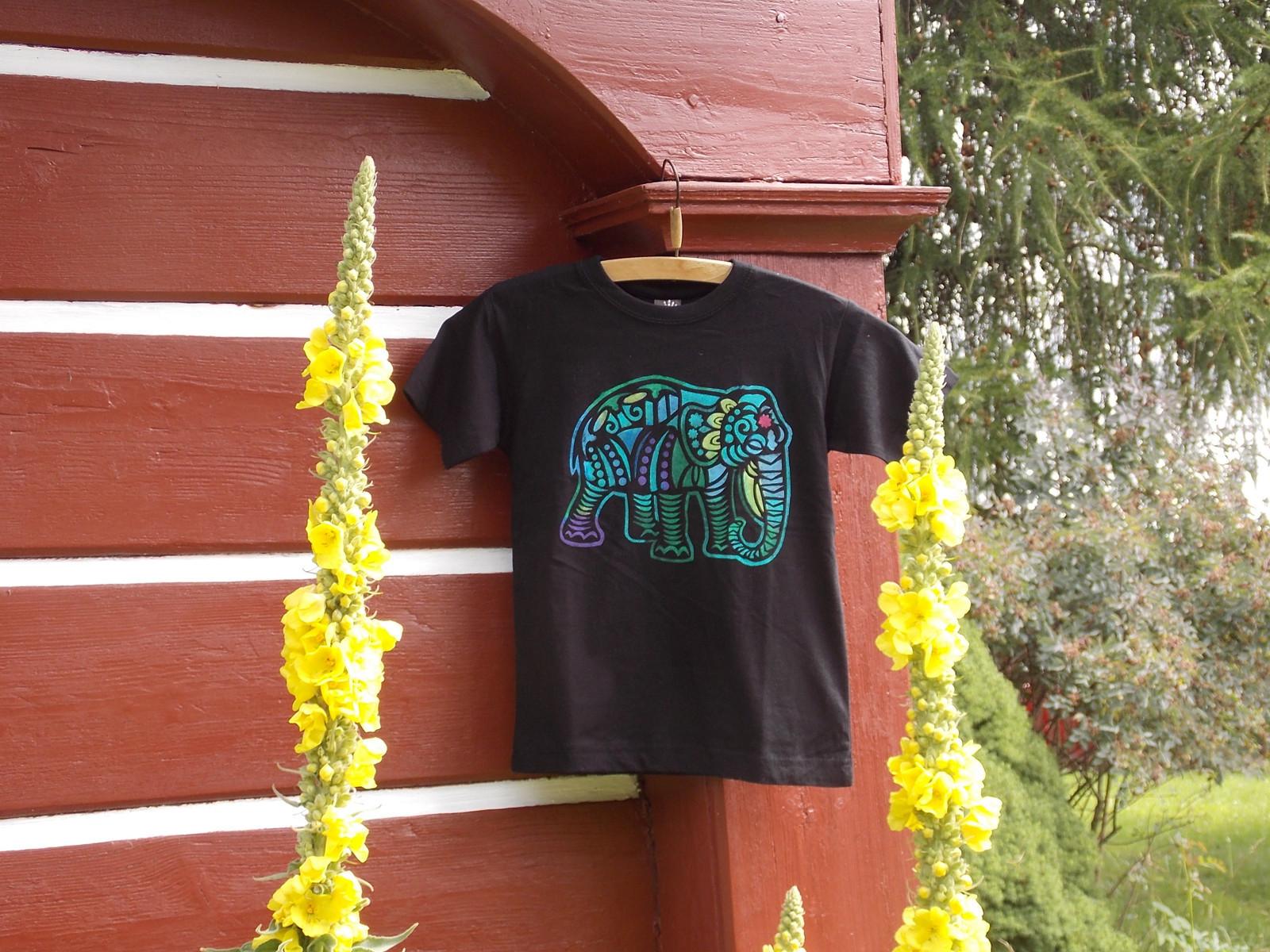 dětské tričko se slonem   Zboží prodejce pletule 25  490d75d0ff