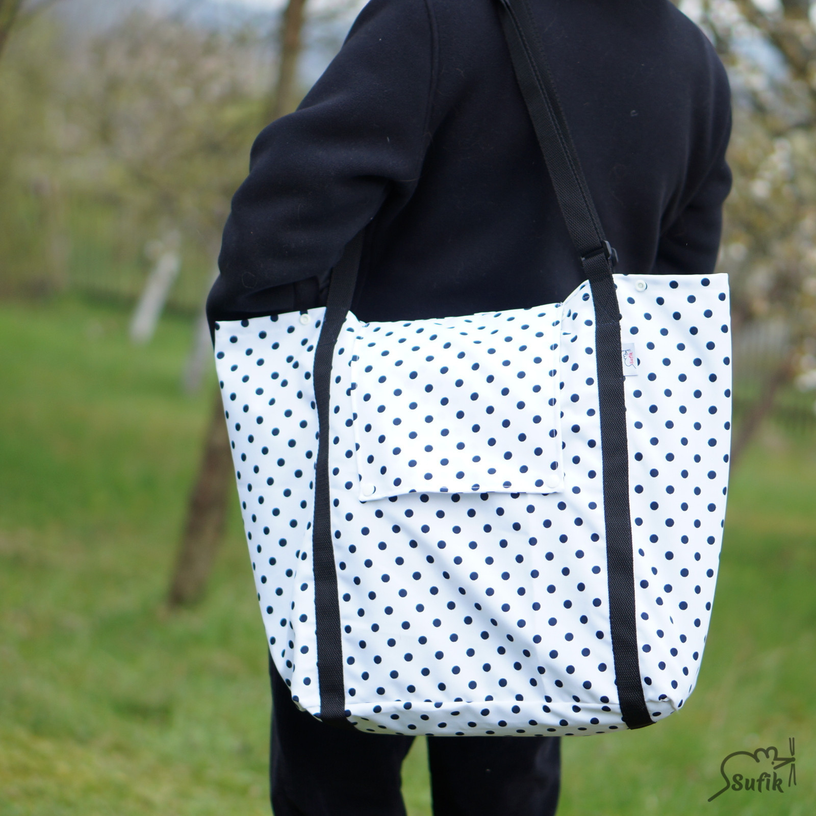 0633e18c6 XXL taška nákupní, lehká, skládací s víkem / Zboží prodejce Sufik ...