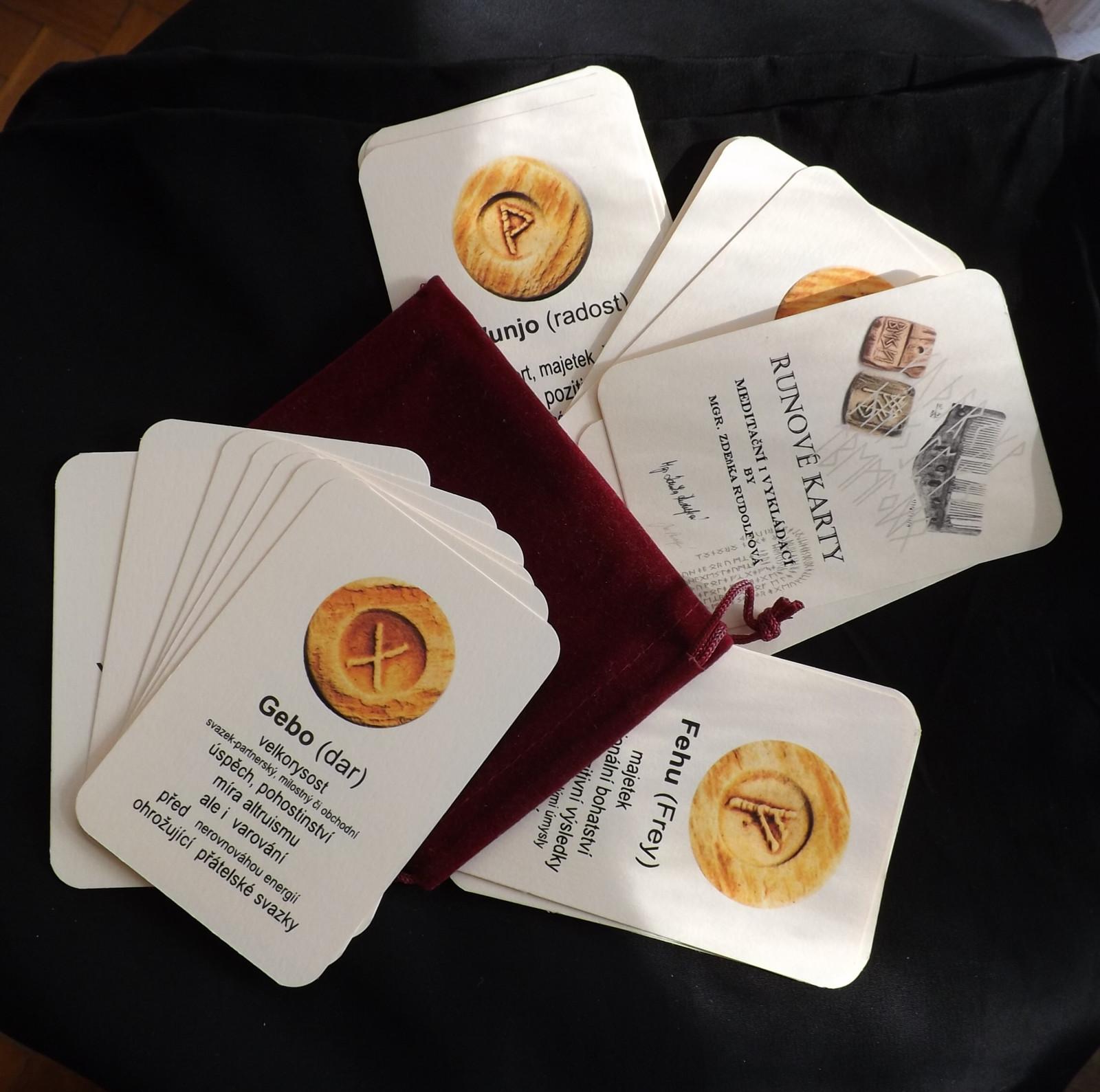 Runove Karty Autorske Meditacni I Vykladaci Zbozi Prodejce Ruz