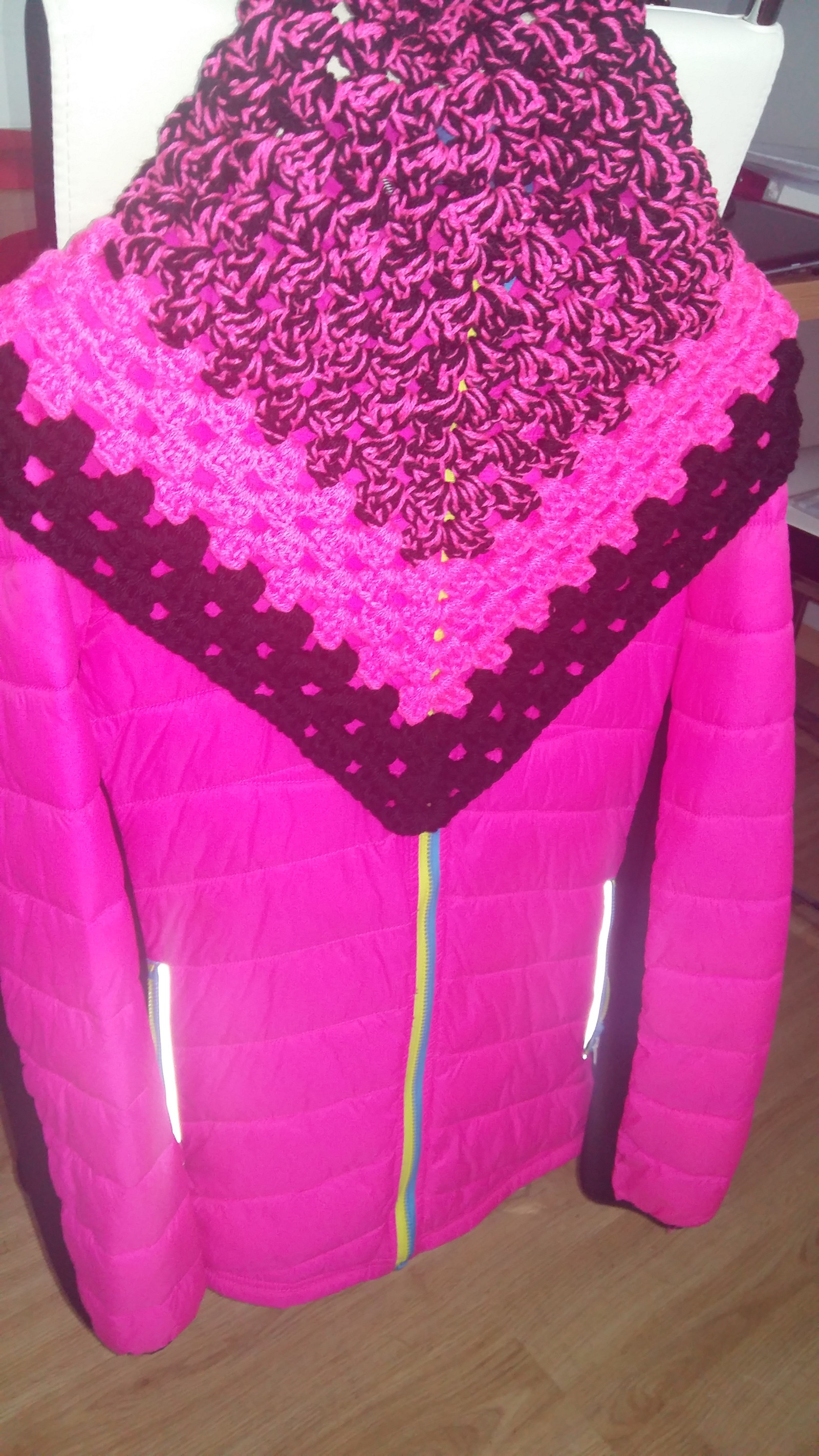 neonový háčkovaný šátek   IHNED SKLADEM   Zboží prodejce dolela ... e9c6211261