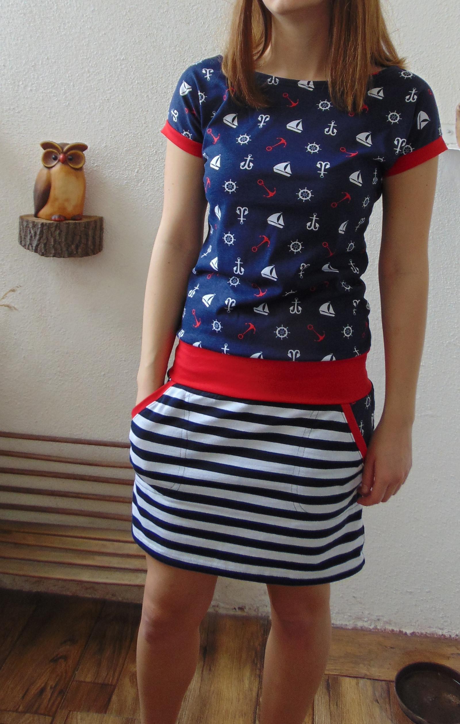 0227faa3263 šaty námořník s lodičkou   Zboží prodejce Pa-Milada