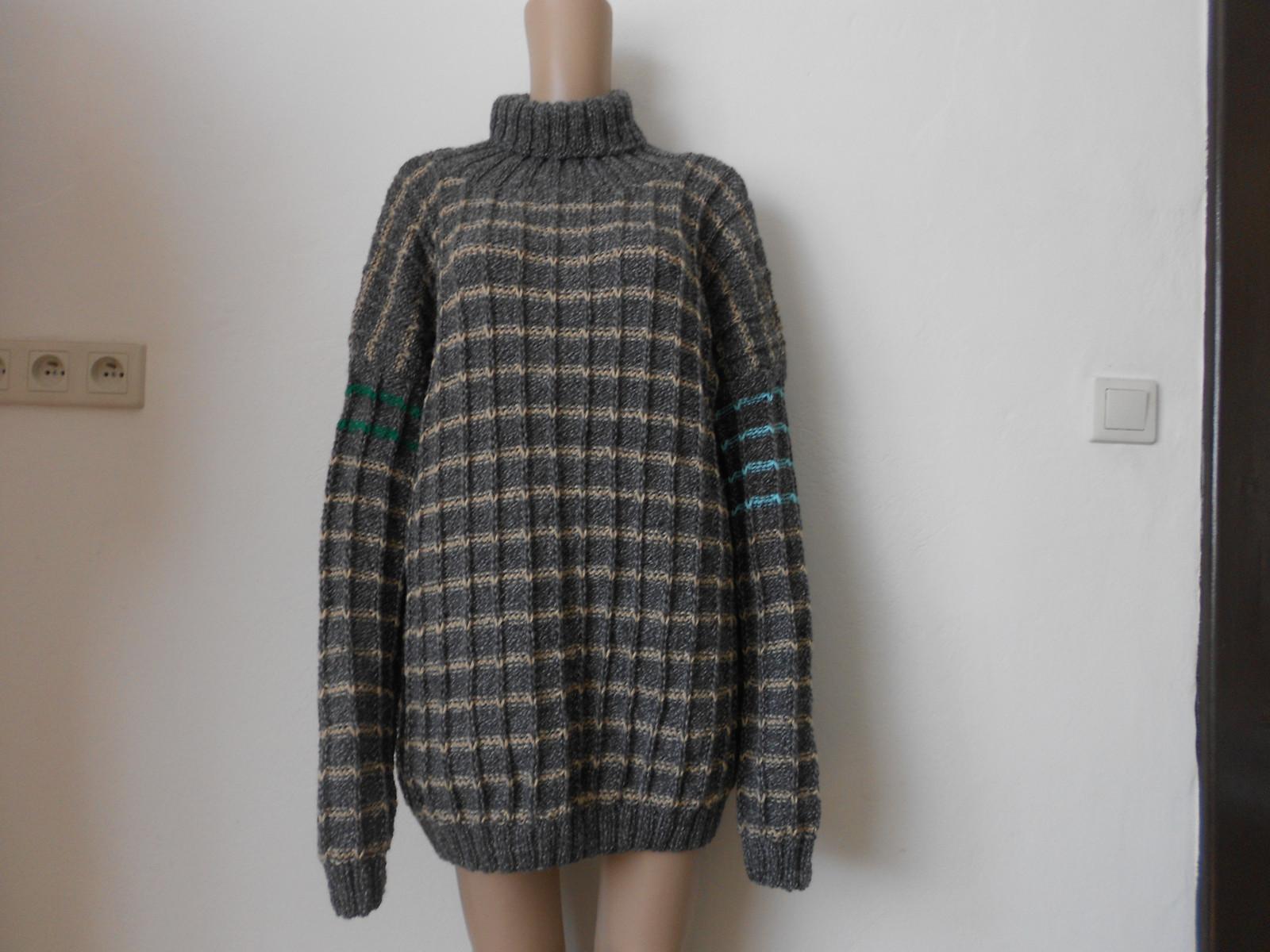 Velký pánský svetr - rolák s vlnou   Zboží prodejce mi-pi  4e181bb894