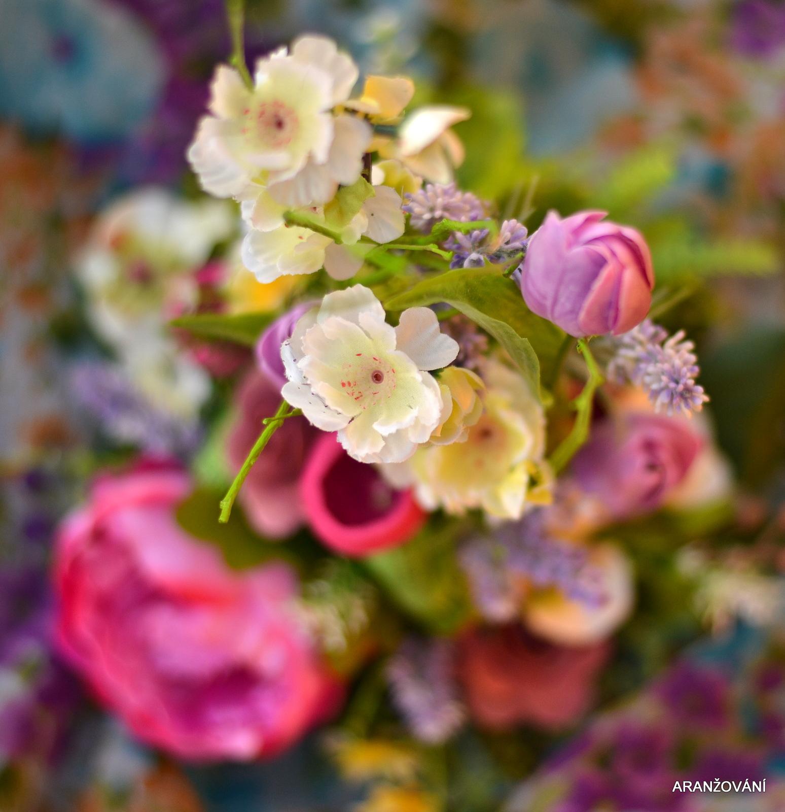 Barevné jaro   Zboží prodejce ARANŽOVÁNÍ  f13e338b3b0