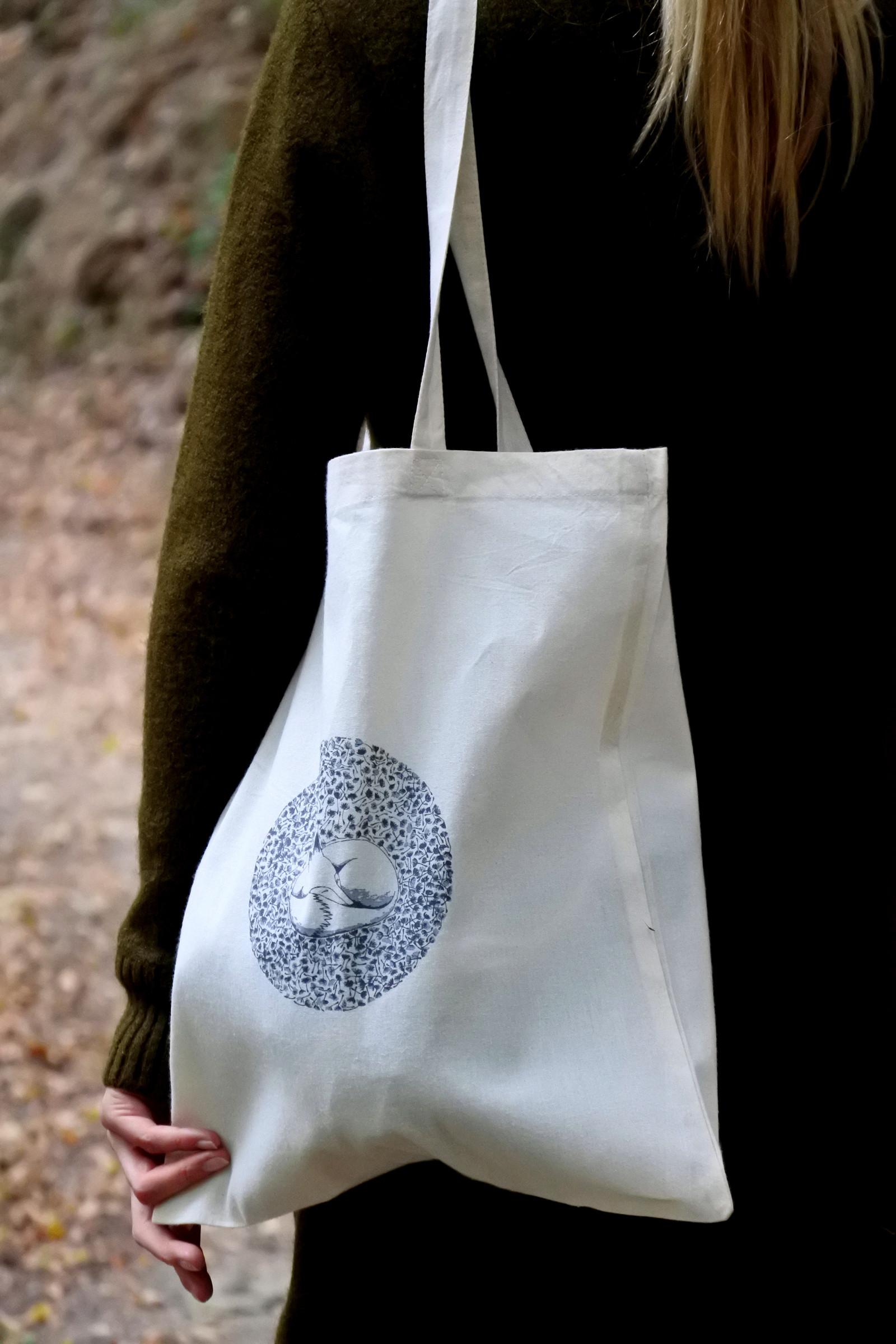 860bf36b7 Plátěná taška přes rameno - pampeLIŠKA / Zboží prodejce Ellastration ...
