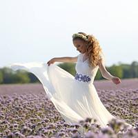 5a37a70ff8e6 Svatební šaty s elastickým živůtkem · Dyona · O+. 297.67 €. Spoločenské šaty  z hrubej krajky veľ. 36-38