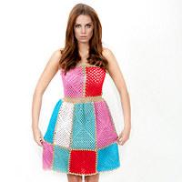 c4cf0ab7009a HÁČKOVANÉ ŠATY   Zboží prodejce fashionmartina