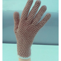 Prstové háčkované rukavice 100% kašmír 09d2541e01