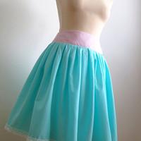 1dbbb5a0139 set  skládaná sukně a pánský motýlek · fioreLino handmade · O+. 43.34 €.  Nadýchaná sukýnka Mořský vánek