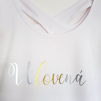 3520f36d8ad8 Svatební tričko pro Nevěstu - ULOVENÁ (na přání)