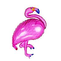 aef5ea6b2d8e 1ks Růžový Plameňák Pták Hliníkové Fólie Balónky Z
