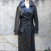Podzimní den - ručně malovaný kabát · Antonietta · O+. 97.39 €. Studený  podvečer...kožich z pravé kožešiny fab46b2518