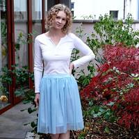 c0472294d67 Tylové sukně jednobarevné   Zboží prodejce Princezna Pampeliška ...