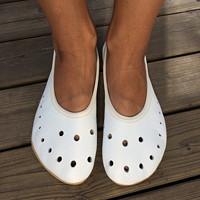 Barefoot baleríny ... Jako ementál ) · gleds · O+. 66.24 €. Krémově bílé  kožené rukavice s hedvábnou podšívkou e453cf7367