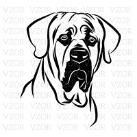 ... psí plemena - FCI 10 · samolepka - tosa inu 1 - 15 cm 805dee4f85