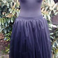 e4846d50c245 Dámská tylová sukně Noc